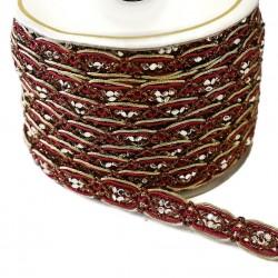 Braid Braid Chain - Bordeaux - 15 mm