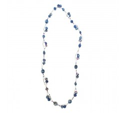 Necklaces Long Light necklace - Blue Berry Babachic by Moodywood