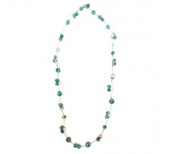 Necklaces Long Light necklace - Emerald Babachic by Moodywood