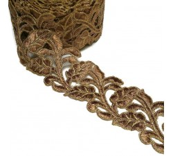Lace Lace Guipure - Bronze - 55 mm babachic