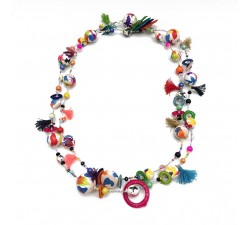 Necklaces Long necklace - Multicolor - Splash Babachic by Moodywood