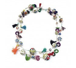 Collares Collar largo - Flor - Splash Babachic by Moodywood