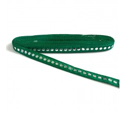 Braid Mirrors braid - Fir green - 18 mm