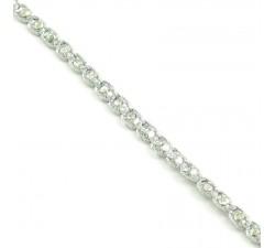Galónes Galón Indio - Diamantes - Plateado - 6 mm