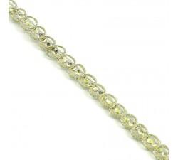 Galons Galon Indien - Diamants - Doré - 6 mm