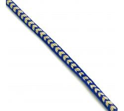 Galons Galon Coeur - Bleu marine - 7 mm