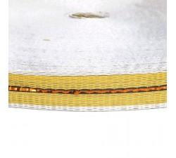 Sangles  Sangle fine en plastique recyclé jaune - 23 mm  babachic