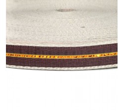 Straps  Thin recycled plastic brown strap - 23 mm  SA23-003