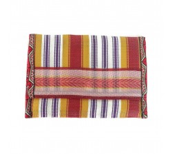 Wallets Recycled yellow/red plastic wallet Babachic by Moodywood