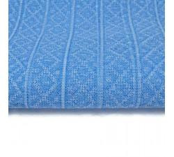 Tulle de plastique recyclé Tulle plastique recyclé bleu ciel babachic