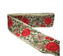 Embroidery Silk border - 85 mm Babachic by Moodywood