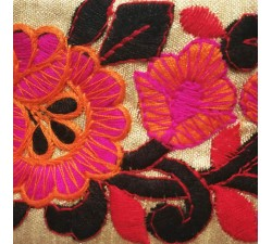 Embroidery copy of Indian embroidery - 70 mm babachic