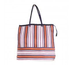 Bags Pink, orange and purple square classic tote bag Babachic by Moodywood