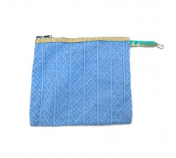 Cases Golden light blue clutch Babachic by Moodywood