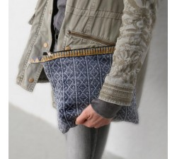Cases Golden grey clutch Babachic by Moodywood