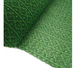 Tulle de plastique recyclé Tulle en plastique recyclé verte babachic