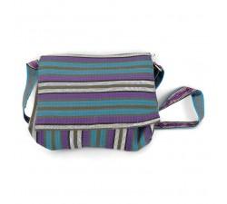 Sacs à main Petit sac à main à rabat, bleu et violet Babachic by Moodywood