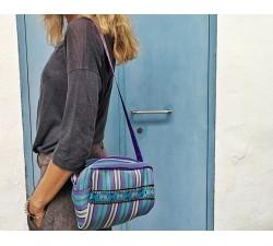 Handbags Sac - trousse de toilette bleu et violet Babachic by Moodywood
