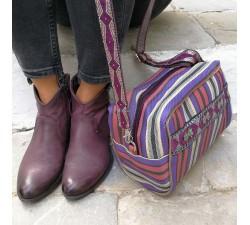 Handbags Sac - trousse de toilette prune et violet Babachic by Moodywood