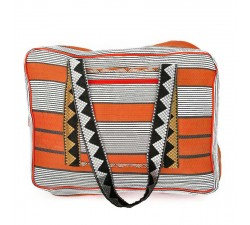 XXL bags Sac Week-end orange et noir Babachic by Moodywood