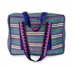 XXL bags Sac Week-end bleu et violet Babachic by Moodywood