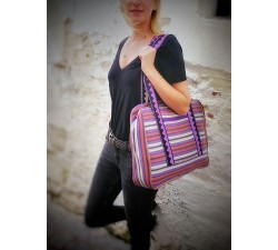 Sacs XXL Sac Week-end prune et violet Babachic by Moodywood