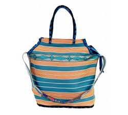 Bolsos XXL Bolsa de playa grande de color lima Babachic by Moodywood