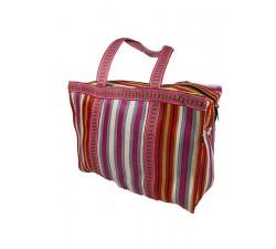 Home RP Thin Fucsia White - Cubic Shopping Bag Anis